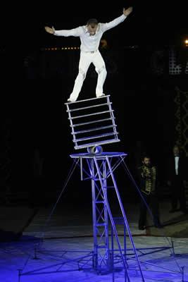 Acrobaat circus Renaissance