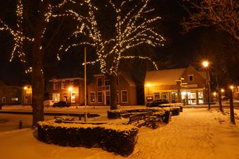 De Heul in de sneeuw
