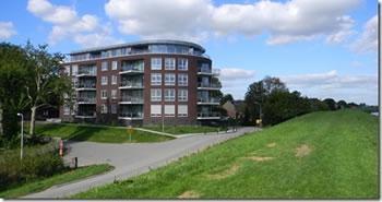 Apartementengebouw langs de Kilweg