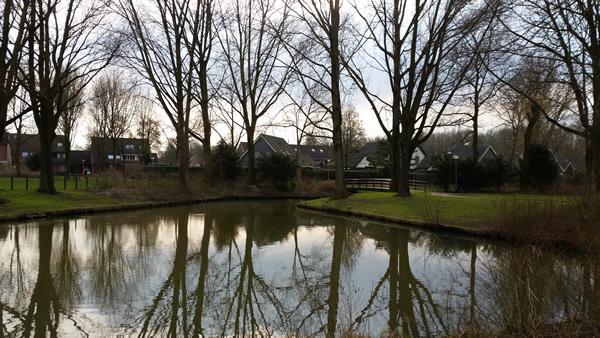 Parkje achter de Klaprooslaan in 's-Gravendeel