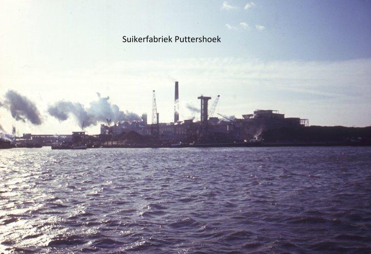Suikerfabriek Puttershoek in de jaren '60