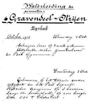 Dagboekfragment D. Buizer