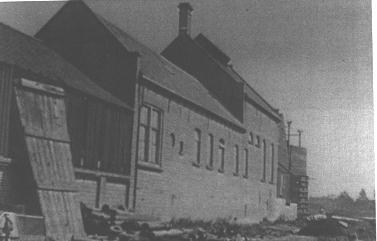 Het gasbedrijf aan de Gorsdijk in 's-Gravendeel