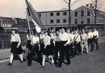 Wandelclub De Trekkers 's-Gravendeel 1947