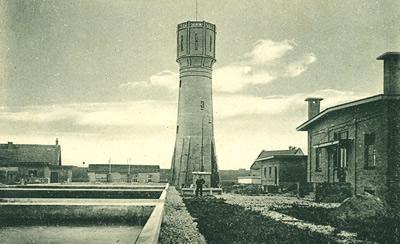 Waterleidingbedrijf 's-Gravendeel in de jaren 1920