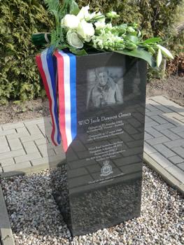 Jack Dawson Green monument