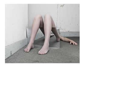 Foto van marylene rutten die armen en gespiegelde benen laat zien
