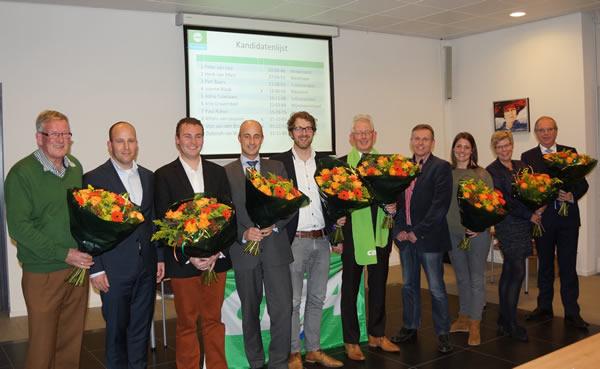 Kandidaten CDA Binnenmaas verkiezingen 2014