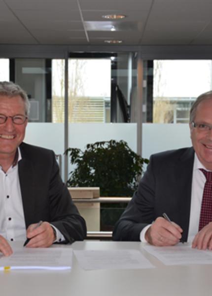 Foto bij 'Ondertekening overeenkomst Roodenburg Vermaatstraat'