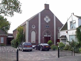 Kerk van de gereformeerde gemeente in 's-Gravendeel