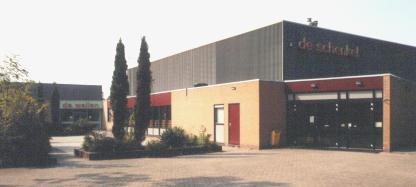 Sporthal De Schenkel in 's-Gravendeel