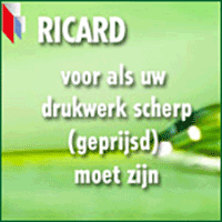 Advertentie Ricard drukwerk